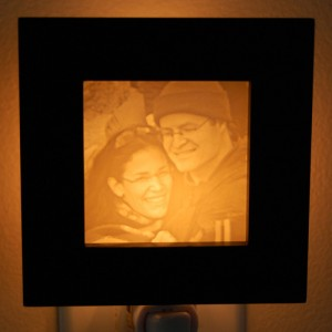 Valentines Day Gifts, personalized photo Night Light
