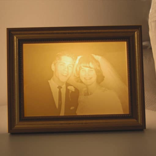 Golden Wedding Anniversary gift |Light Affection lights|Light ON