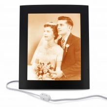Wedding Photo Lamp XLarge |50th wedding anniversary gift ideas