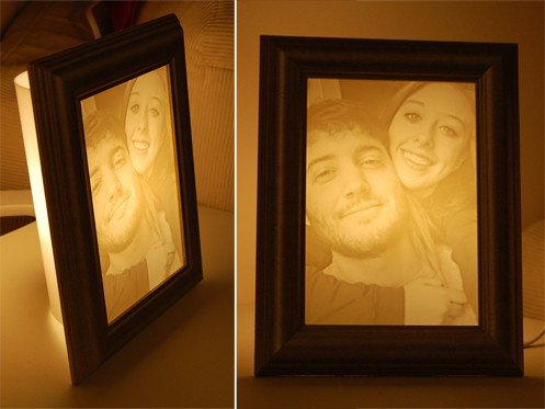 Valentine's Day photo gift idea|Photo to lamp