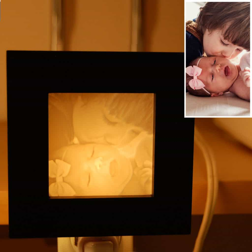 Mother's Day photo Night Light