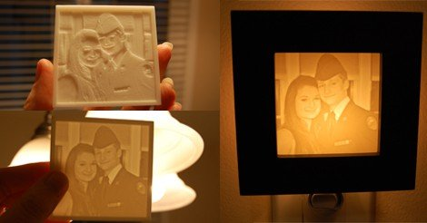 Anniversary Gift idea|Young Couple photo to Night Light